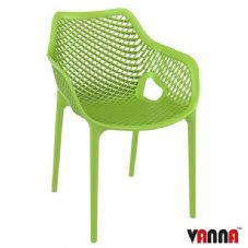 Vanna Spring Arm Chair - Tropical Green